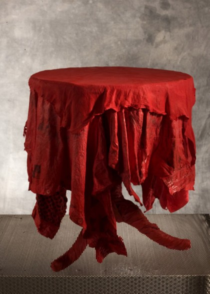 Tavolino 3 rosso